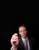 Γράψιμο επιχειρηματιών Στοκ εικόνα με δικαίωμα ελεύθερης χρήσης