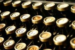 γράψιμο μηχανών Στοκ Φωτογραφία