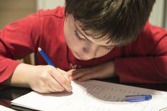 Γράψιμο παιδιών Στοκ Εικόνες
