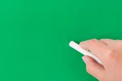 γράψιμο χεριών κιμωλίας πι&n Στοκ εικόνες με δικαίωμα ελεύθερης χρήσης