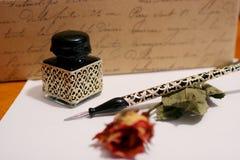 γράψιμο χεριών Στοκ εικόνες με δικαίωμα ελεύθερης χρήσης