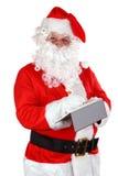 γράψιμο santa σημειώσεων Claus στοκ εικόνα