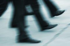 γρήγορα βήματα Στοκ Φωτογραφίες