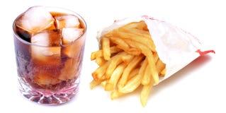 γρήγορα λιπαρά τρόφιμα Στοκ φωτογραφία με δικαίωμα ελεύθερης χρήσης