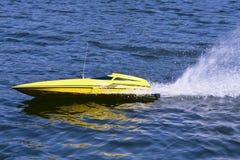 Γρήγορη ηλεκτρική πρότυπη βάρκα Στοκ Φωτογραφία