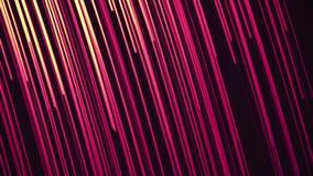 Γρήγορος βρόχος ελαφριών ραβδώσεων νέου Γρήγορες ταχύτητας γύρου ραβδώσεις γραμμών νέου καμμένος διανυσματική απεικόνιση