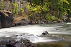 γρήγορος ποταμός ορμητικά σημείων ποταμού καταρρακτών Στοκ φωτογραφία με δικαίωμα ελεύθερης χρήσης