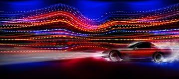 Γρήγορο αυτοκίνητο απεικόνιση αποθεμάτων