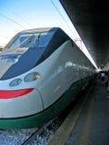 γρήγορο τραίνο της Ευρώπης Στοκ φωτογραφία με δικαίωμα ελεύθερης χρήσης