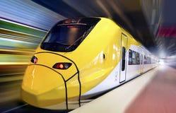 γρήγορο τραίνο Στοκ Εικόνα