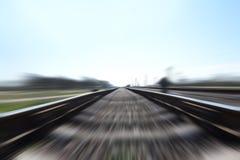 γρήγορο τραίνο Στοκ Εικόνες