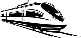 γρήγορο τραίνο ελεύθερη απεικόνιση δικαιώματος