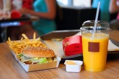 Γρήγορο φαγητό στοκ εικόνες με δικαίωμα ελεύθερης χρήσης