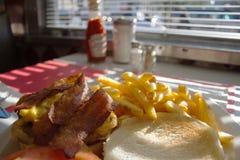 γρήγορο φαγητό Στοκ Εικόνες