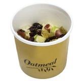 Γρήγορο φαγητό - Oatmeal στοκ εικόνες