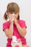 γρίπη φοβερή Στοκ Εικόνες