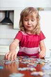 γρίφοι παιχνιδιού κοριτσ& Στοκ εικόνες με δικαίωμα ελεύθερης χρήσης