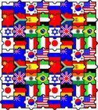 γρίφοι σημαιών Στοκ εικόνες με δικαίωμα ελεύθερης χρήσης