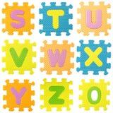 Γρίφος αλφάβητου Στοκ εικόνα με δικαίωμα ελεύθερης χρήσης