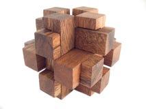 γρίφος ξύλινος Στοκ φωτογραφίες με δικαίωμα ελεύθερης χρήσης