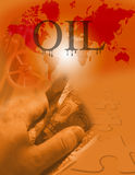 γρίφος πετρελαίου μεγάλης επιχείρησης Στοκ Εικόνες