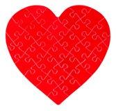 Γρίφος τορνευτικών πριονιών σε μια μορφή μιας καρδιάς στοκ φωτογραφία