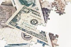 Γρίφος των χρημάτων Στοκ εικόνες με δικαίωμα ελεύθερης χρήσης