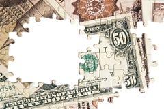 Γρίφος των χρημάτων Στοκ Εικόνες