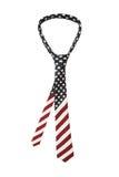 Γραβάτα αμερικανικών σημαιών Στοκ Εικόνες