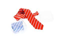 γραβάτες δώρων κιβωτίων Στοκ φωτογραφίες με δικαίωμα ελεύθερης χρήσης