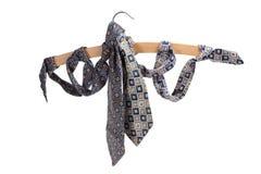γραβάτες κρεμαστρών ενδ&upsil Στοκ Εικόνες