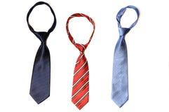 γραβάτες τρία Στοκ εικόνα με δικαίωμα ελεύθερης χρήσης