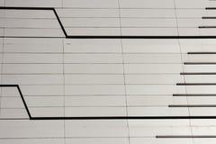 Γραμμές κατασκευής Στοκ φωτογραφία με δικαίωμα ελεύθερης χρήσης