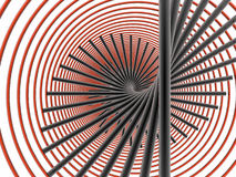 γραμμές κύκλων διανυσματική απεικόνιση