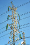 Γραμμές μετάδοσης δύναμης στοκ εικόνα με δικαίωμα ελεύθερης χρήσης