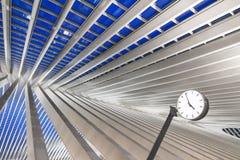 Γραμμές ρολογιών της Λιέγης Στοκ φωτογραφίες με δικαίωμα ελεύθερης χρήσης