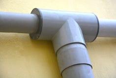 Γραμμές σωλήνων PVC Στοκ Εικόνες