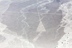 Γραμμές Nazca από τα αεροσκάφη Στοκ Εικόνες