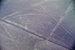 Γραμμές Nazca - η αράχνη στοκ φωτογραφία με δικαίωμα ελεύθερης χρήσης