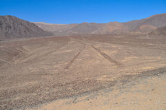 Γραμμές Nazca Στοκ εικόνα με δικαίωμα ελεύθερης χρήσης