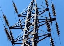 Γραμμή ηλεκτρικής μετάδοσης Στοκ Εικόνα