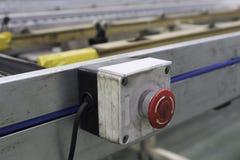 Γραμμή κουμπιών στάσεων έκτακτης ανάγκης Στοκ φωτογραφίες με δικαίωμα ελεύθερης χρήσης