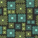 γραμμή λουλουδιών Στοκ εικόνες με δικαίωμα ελεύθερης χρήσης