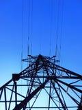 Γραμμή μετάδοσης υψηλής τάσης Στοκ εικόνα με δικαίωμα ελεύθερης χρήσης