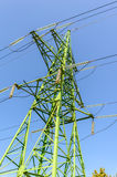 Γραμμή μετάδοσης tower Στοκ εικόνα με δικαίωμα ελεύθερης χρήσης