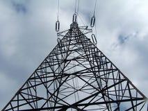 Γραμμή μετάδοσης tower στοκ φωτογραφίες με δικαίωμα ελεύθερης χρήσης