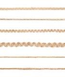 Γραμμή μιας σειράς σχοινιών λινού Στοκ φωτογραφία με δικαίωμα ελεύθερης χρήσης