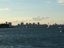 Γραμμή ουρανού του Σικάγου Στοκ φωτογραφία με δικαίωμα ελεύθερης χρήσης