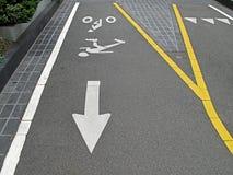 Γραμμή ποδηλάτων Στοκ φωτογραφίες με δικαίωμα ελεύθερης χρήσης