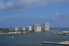 Γραμμή πόδ. Lauderdale Flordia ουρανού Στοκ φωτογραφίες με δικαίωμα ελεύθερης χρήσης